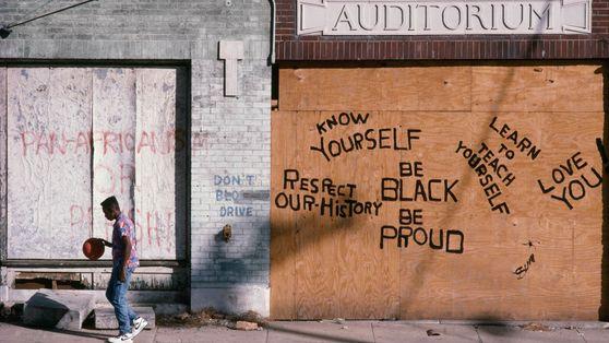 Graffiti in Atlanta, Georgia.