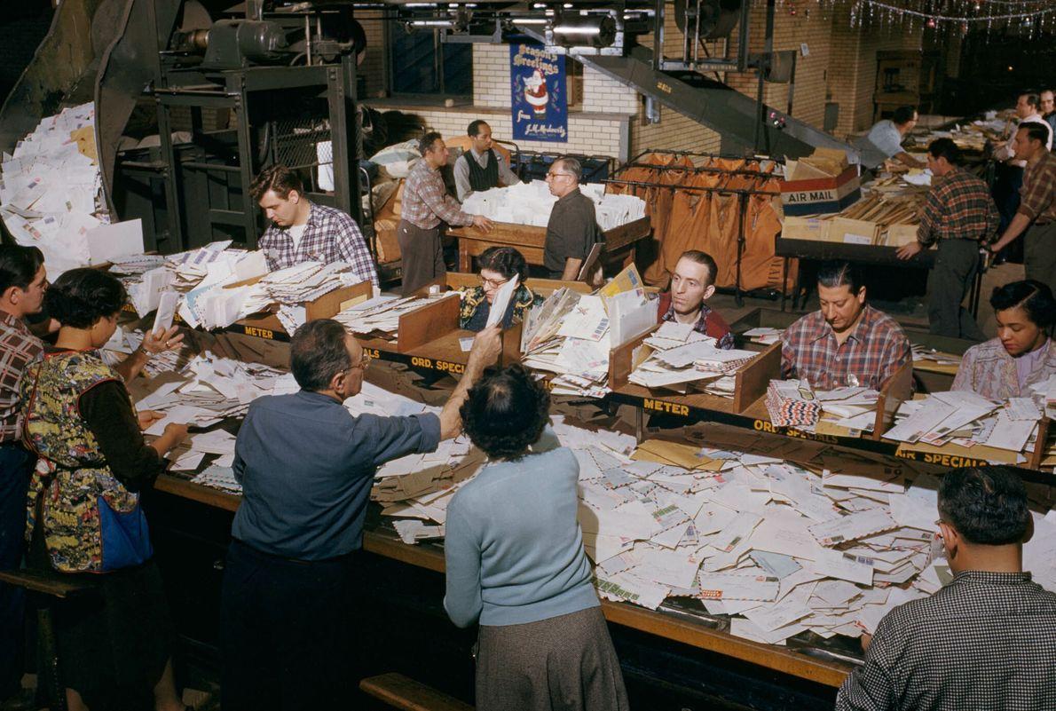 Postamt in New York