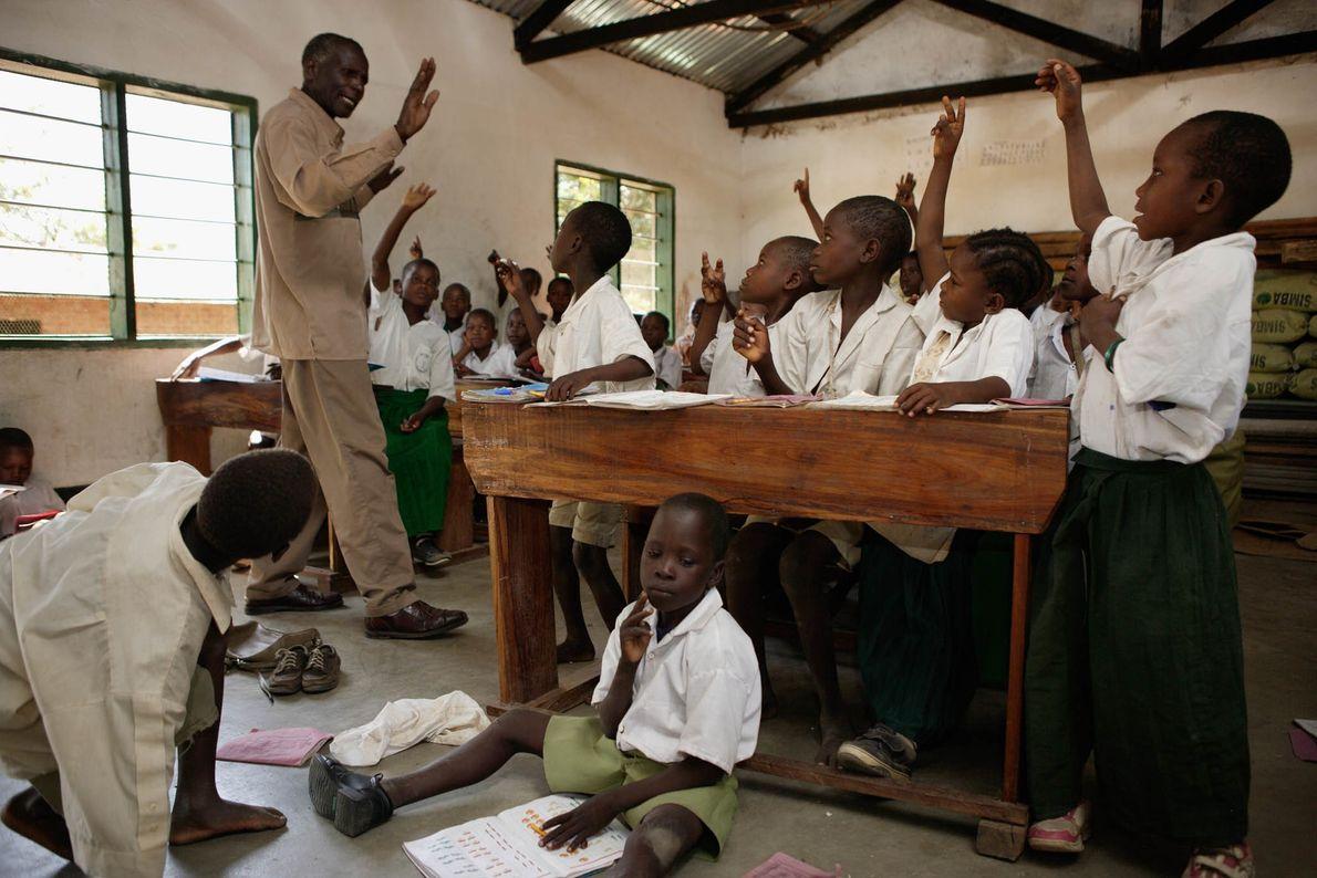 Dorfschule in Tansania