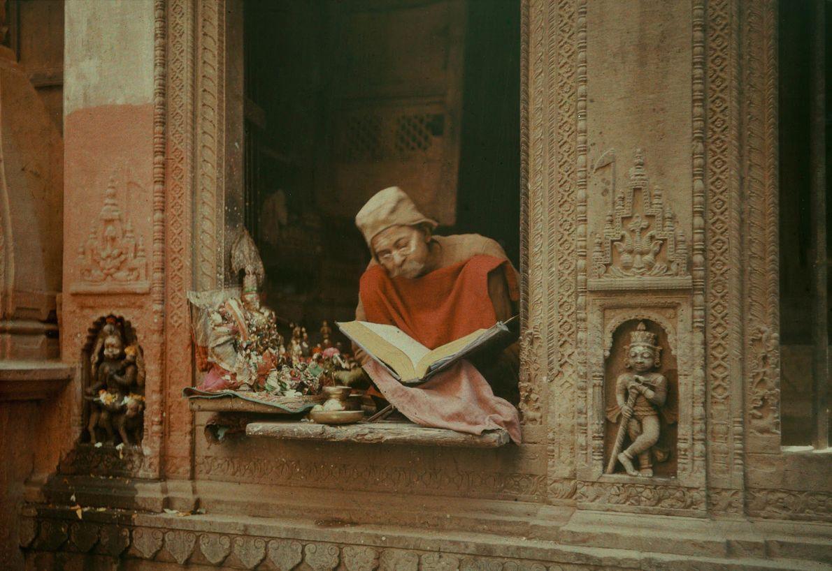 Brahmane in Varanasi