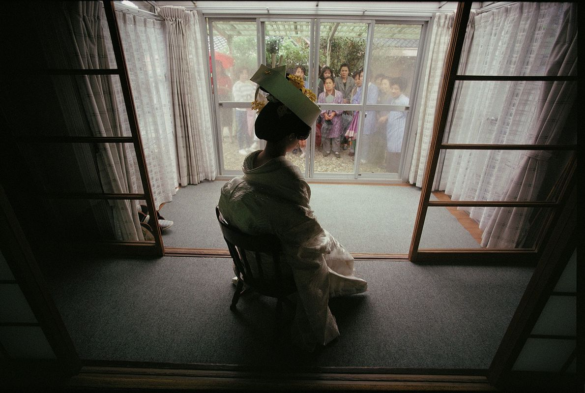 Braut in Japan