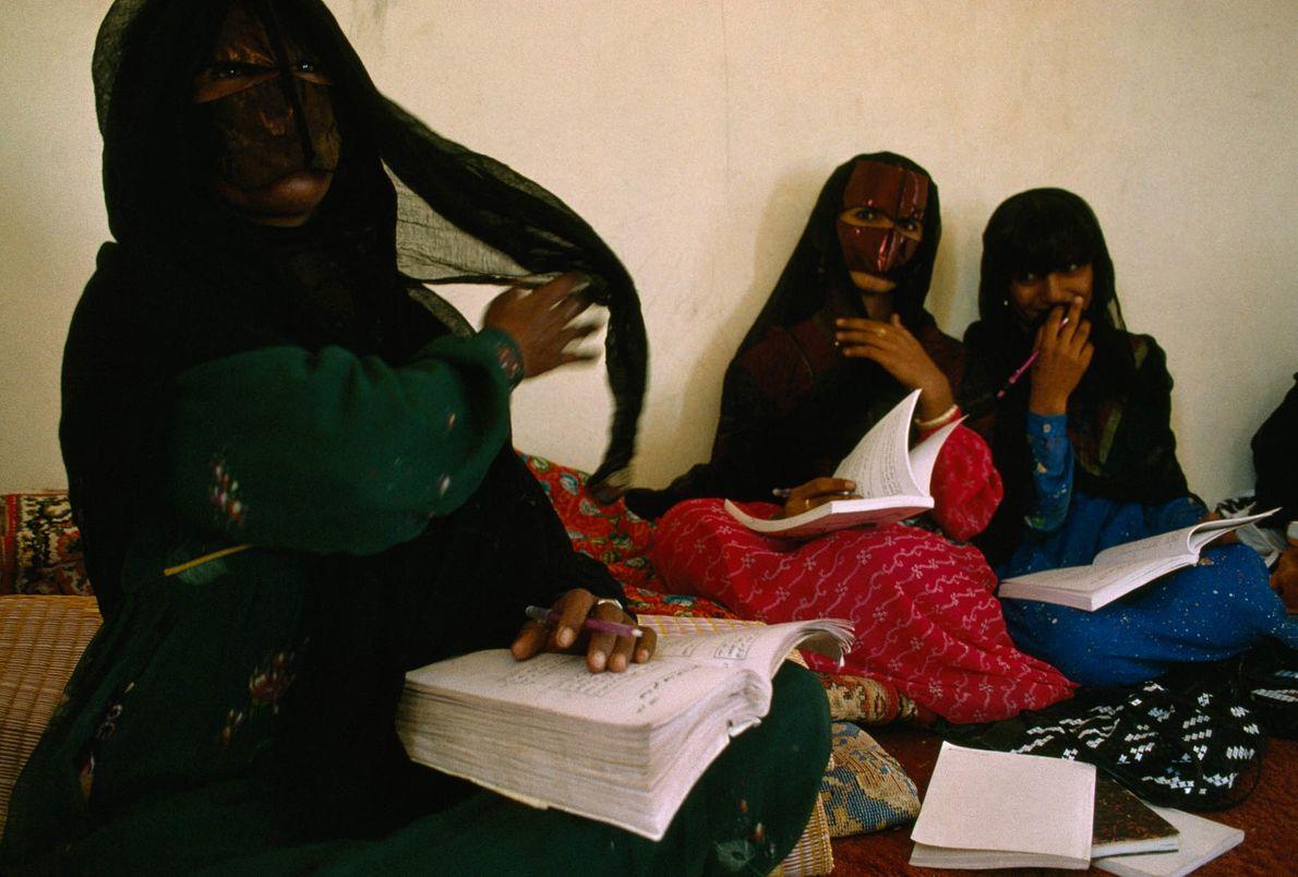 Alphabetisierungskurs im Oman