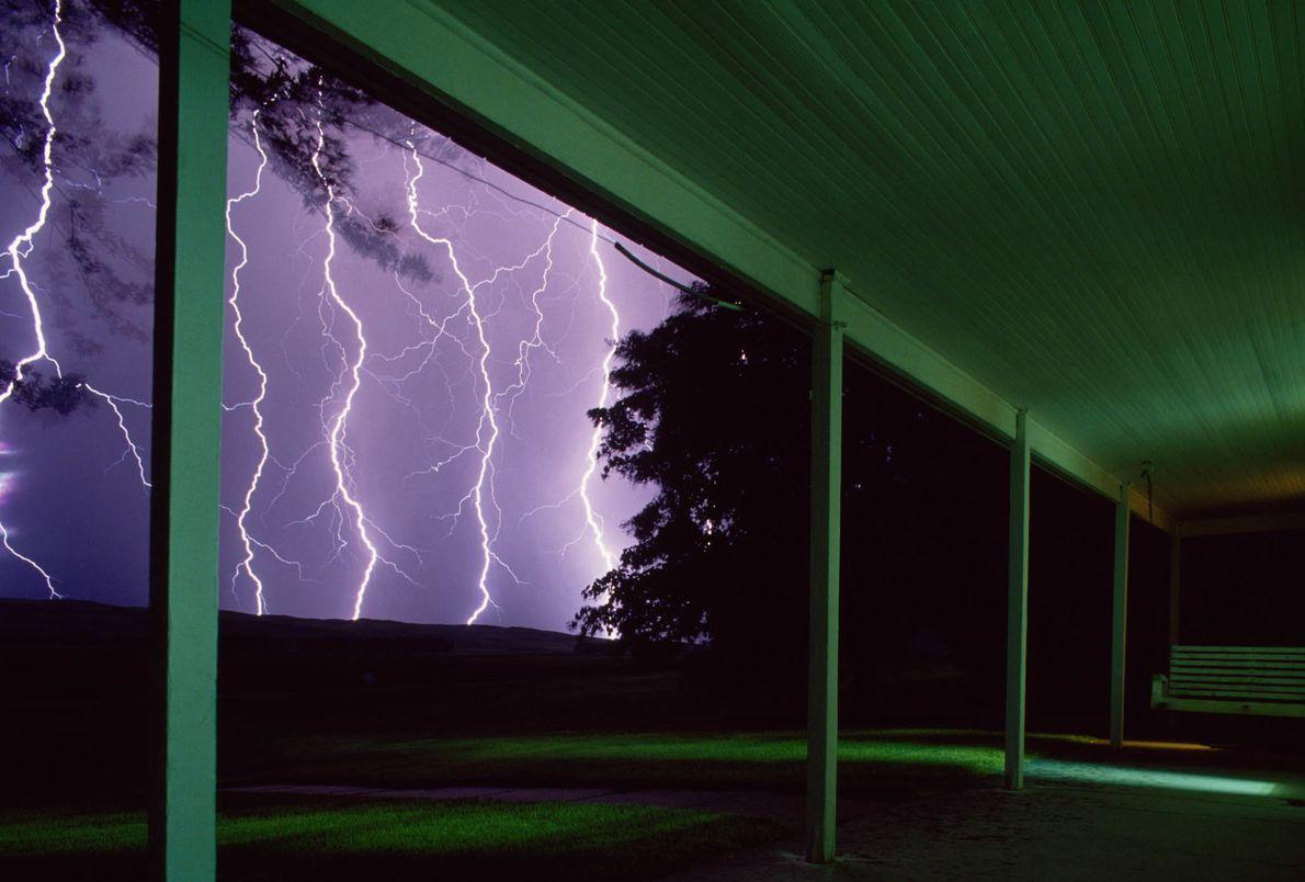 Gewitter über Nebraska