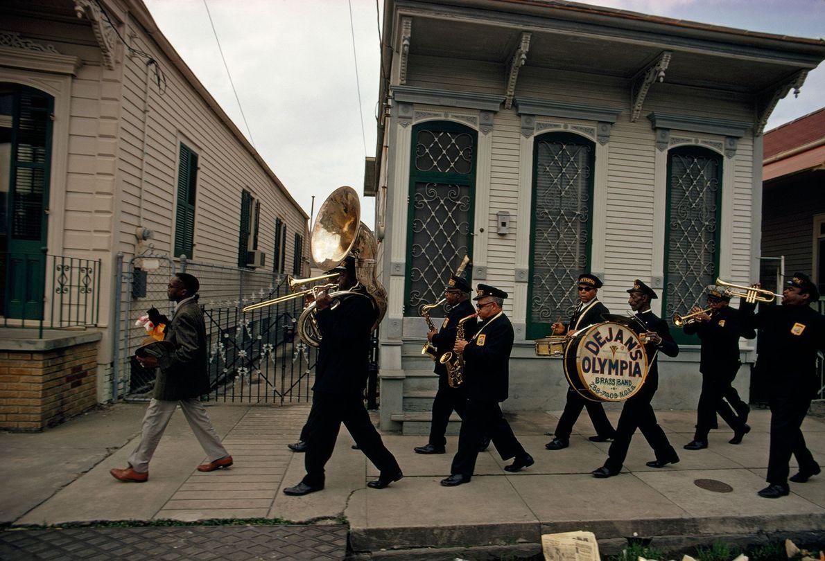 Blasmusiker in New Orleans