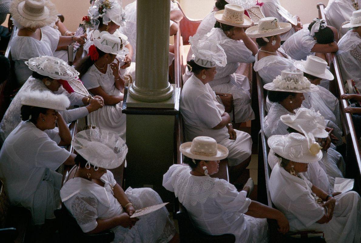Gottesdienst auf Tahiti