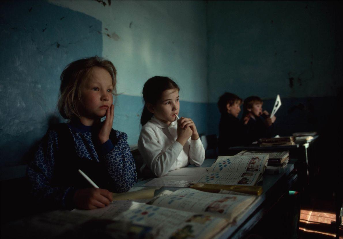 Schulunterricht in sibirischer Klinik