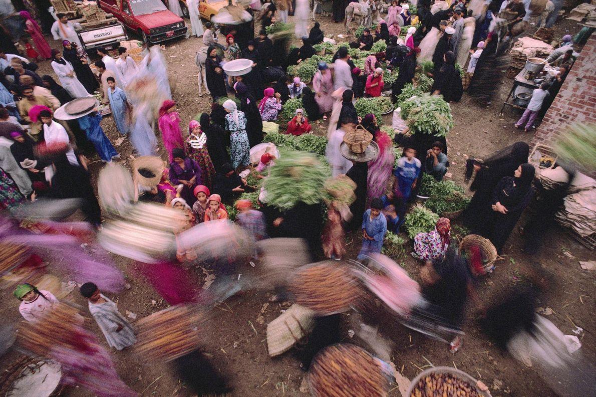 Markt in Sakkara