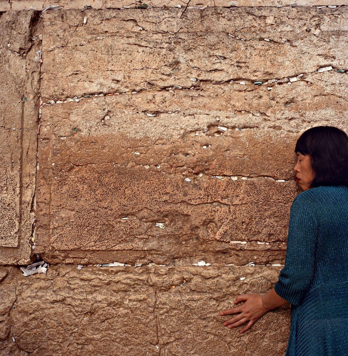 Klagemauer in Jerusalem