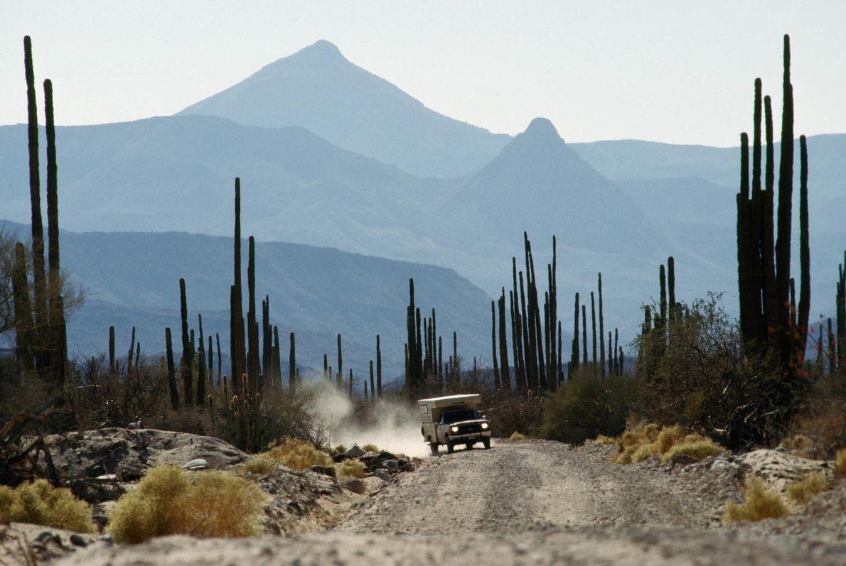 Wohnwagen in Baja California, Mexiko