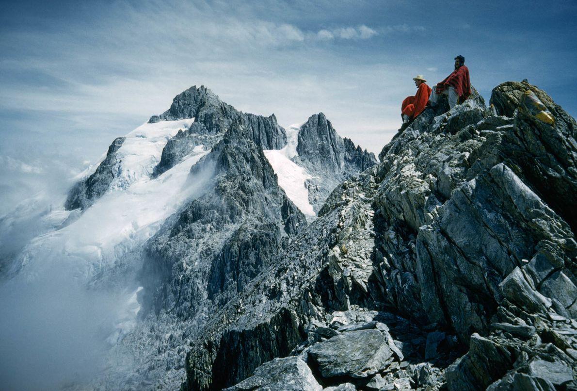 Bergsteiger in Venezuela