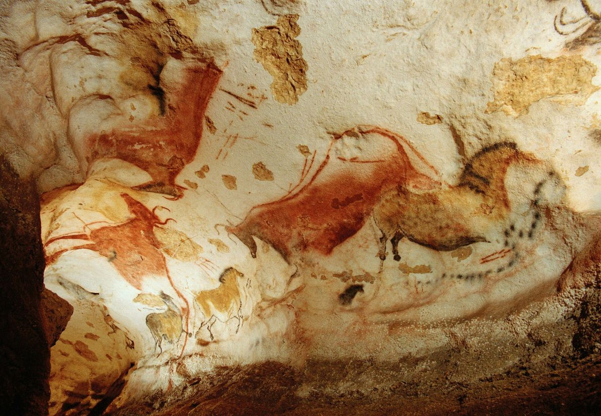 Höhlenkunst in Lascaux