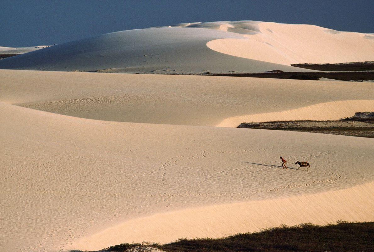 Sanddünen im Nordosten Brasiliens