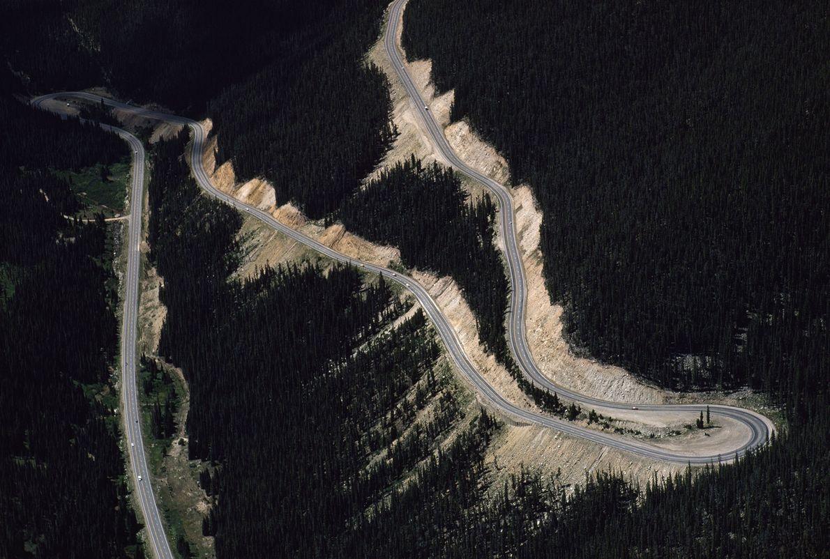Trail Ridge Road im Rocky-Mountains-Nationalpark, Colorado