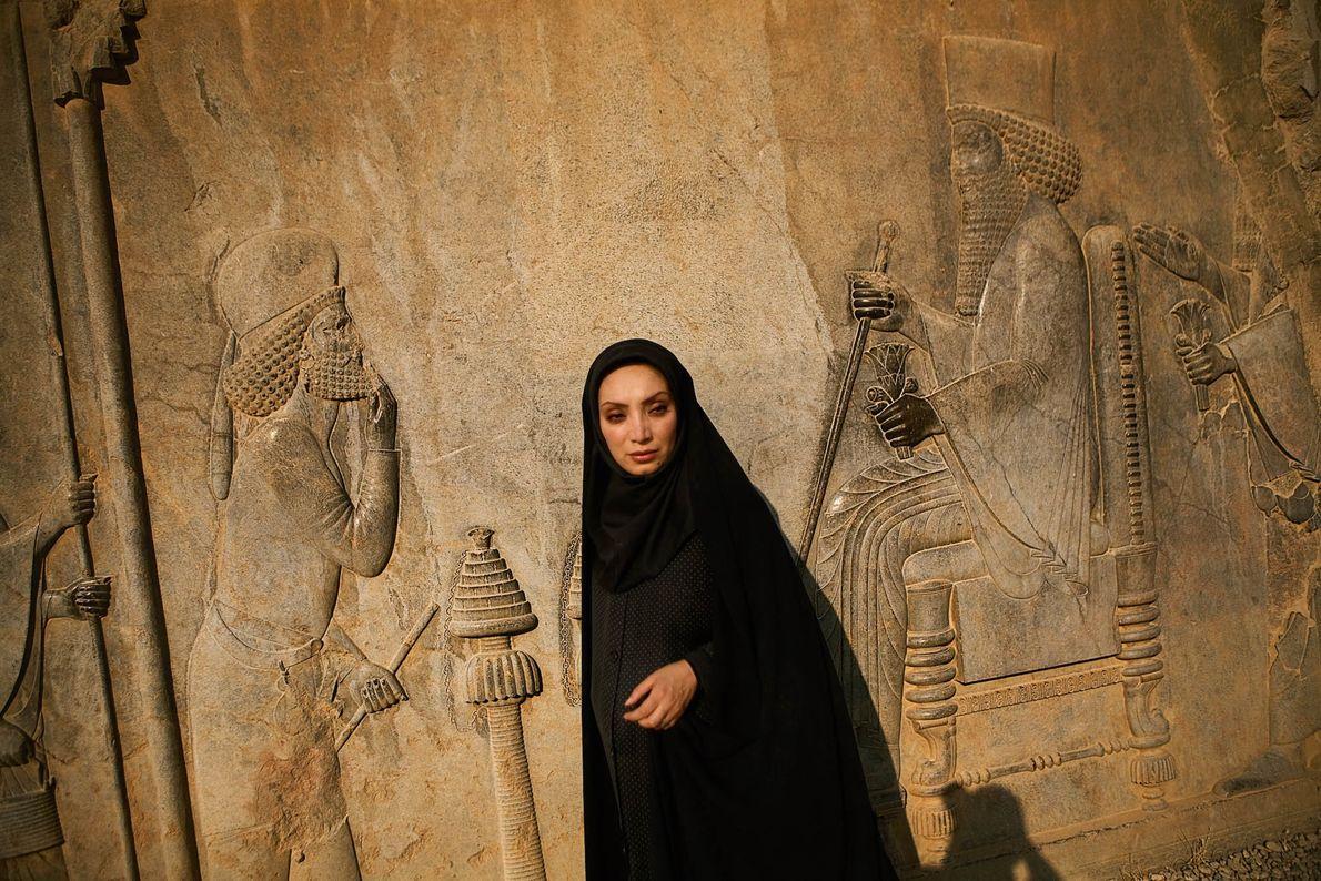 Schauspielerin in Persepolis