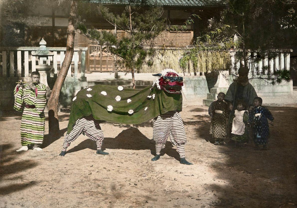 Kindergartenfeier in Japan