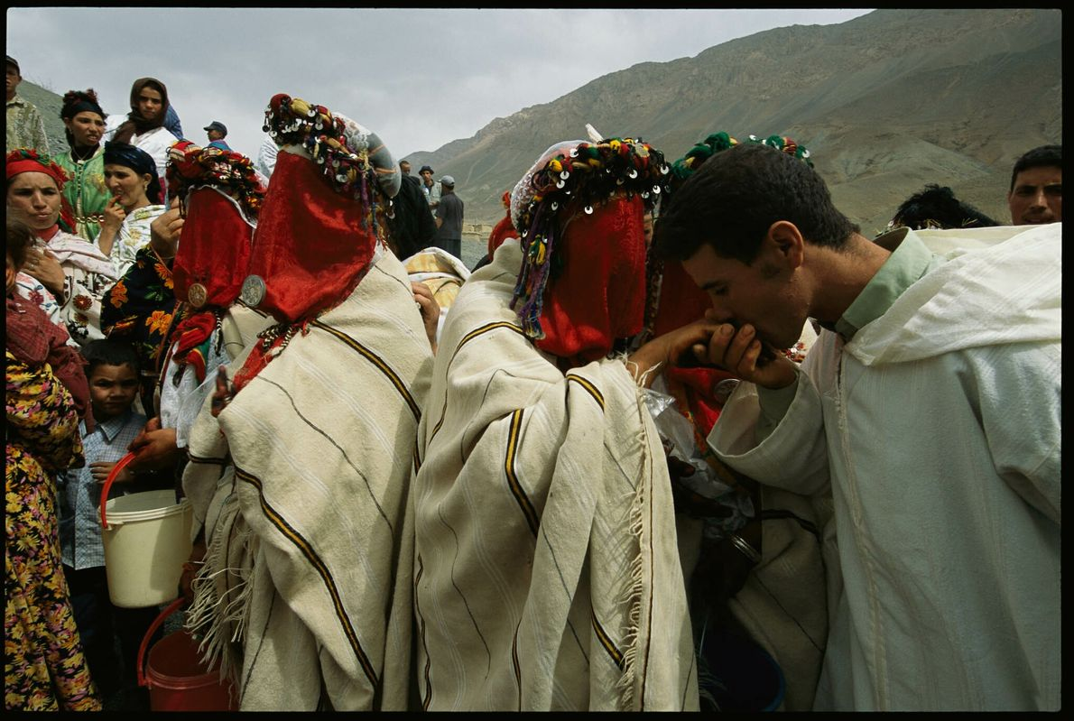 Berber-Hochzeit