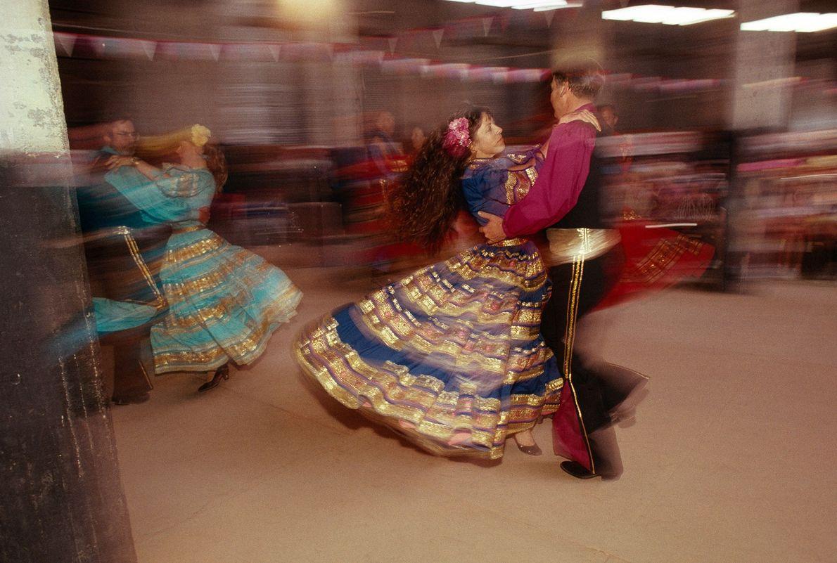 Tänzer beim Fandango