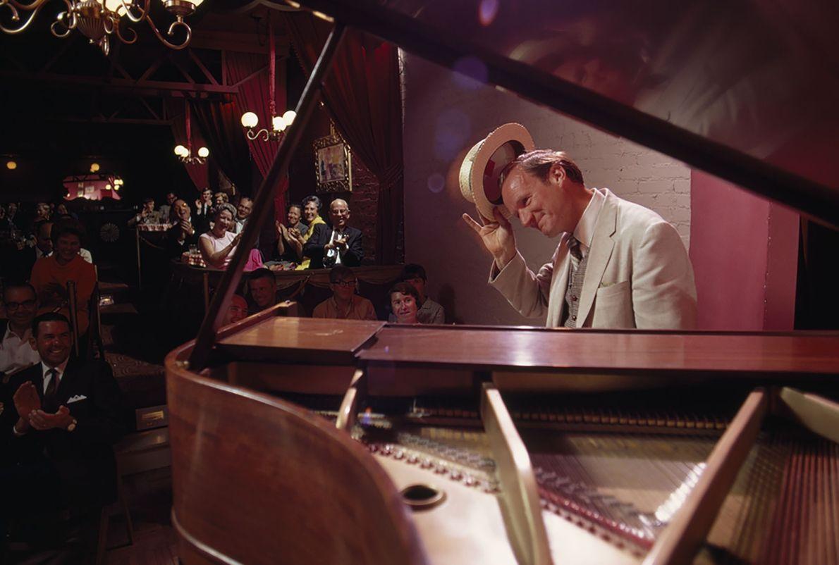 Pianist im Strater Hotel in Durango