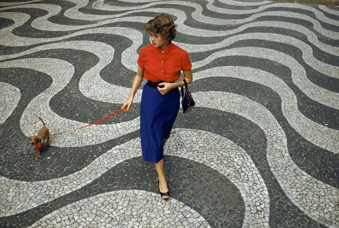 Portugiesischer Gehweg