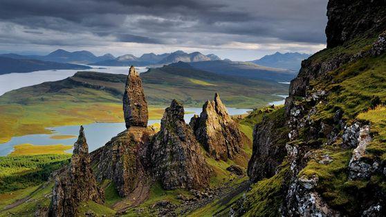 Basaltformationen auf der Isle of Skye