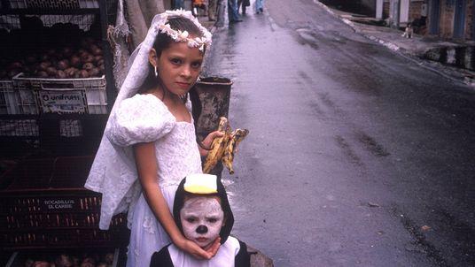 Trick or Treat in Medellín, Kolumbien