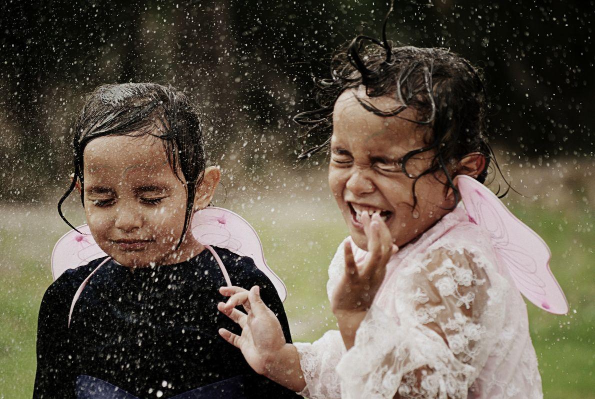 """""""Als Erwachsene vergessen wir oft, uns an den einfachen Dingen im Leben zu erfreuen"""", findet die ..."""