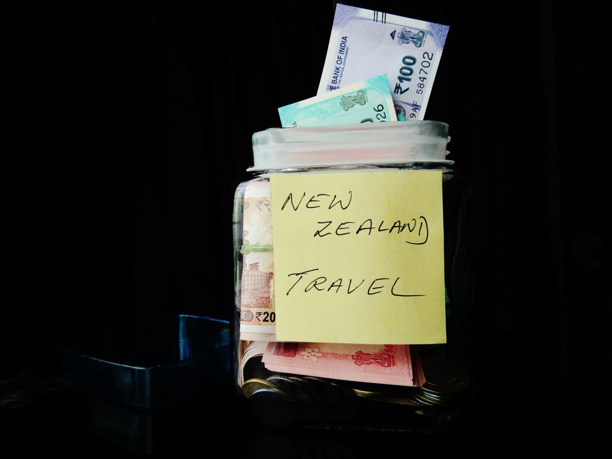 """""""Meine Freunde sind gerade von ihren Flitterwochen aus Neuseeland wiedergekommen und haben sich mit 'Haere ra' ..."""