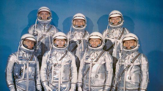 Mercury-7-Astronauten