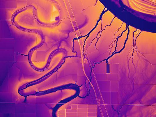 Galerie: Laseraufnahmen enthüllen die Geschichte des Mississippi