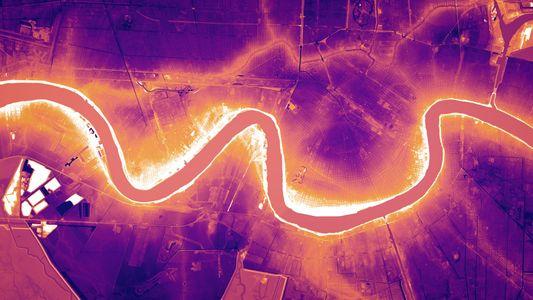 Laseraufnahmen enthüllen die Geschichte des Mississippi