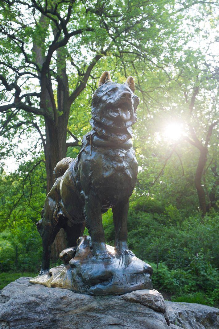 Statue von Balto