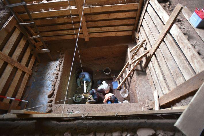 Ausgrabungen in Panga ya Saidi