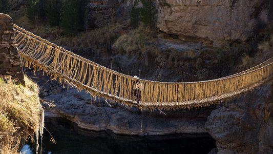 Galerie: Die letzte Hängebrücke der Inka