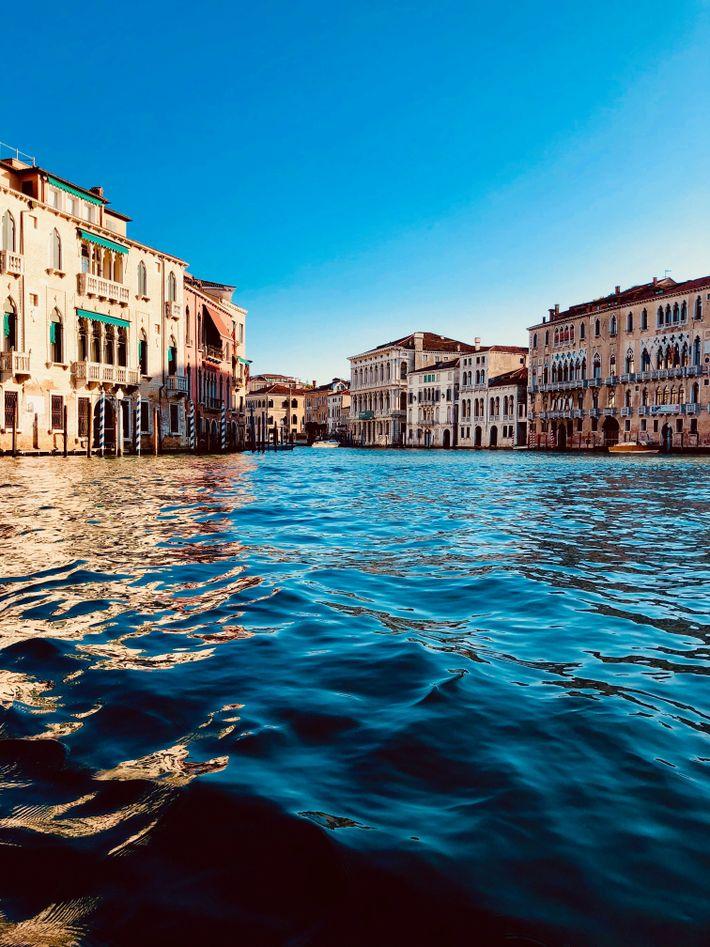 Venedig menschenleer