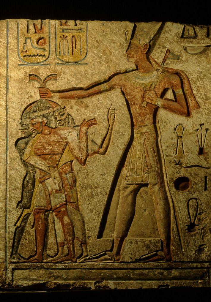Relief Ramses II.
