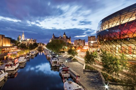 Take a 10-night boat cruise down the historic Rideau Canal.