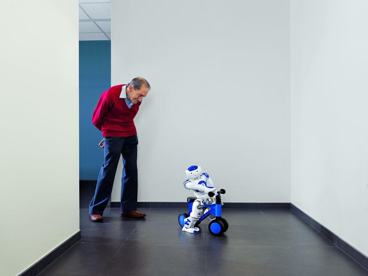 Roboter im Pflegeheim