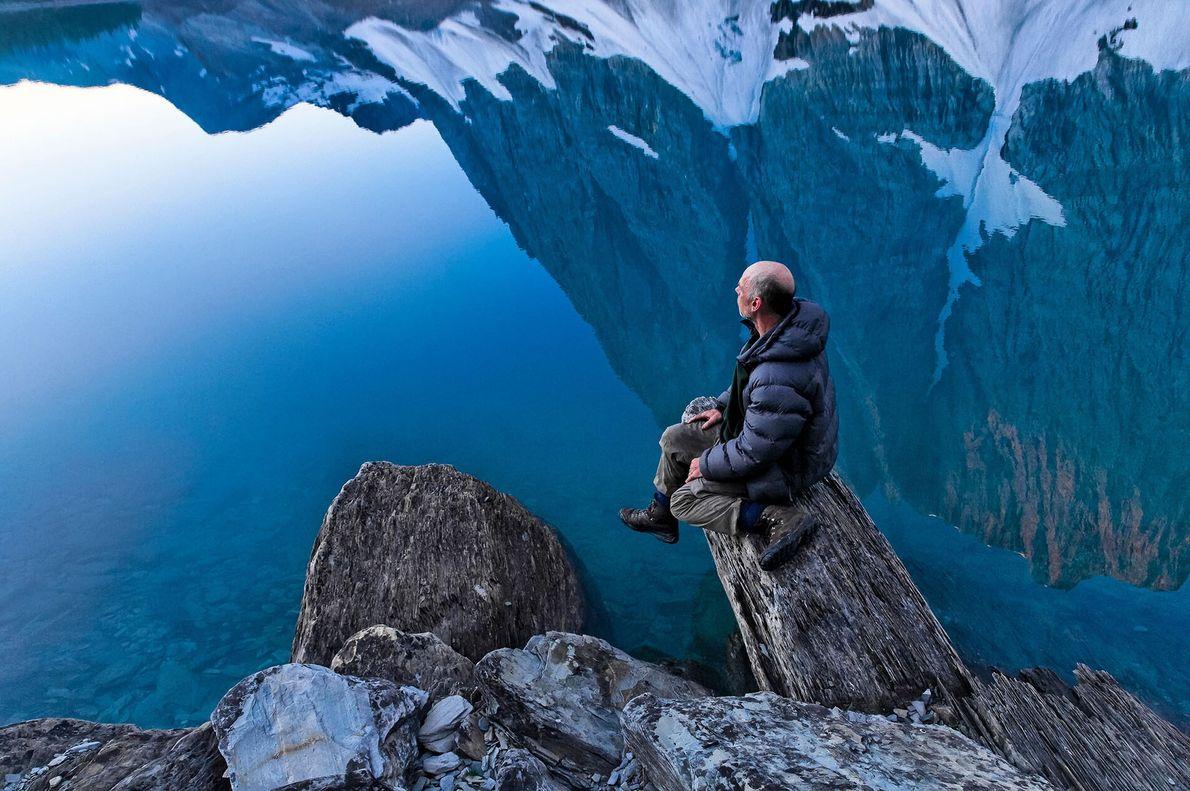 MONUMENTALE LANDSCHAFTEN  Die kanadischen Rocky Mountains im östlichen Teil von British Columbia bilden eine der spektakulärsten Gebirgsketten ...