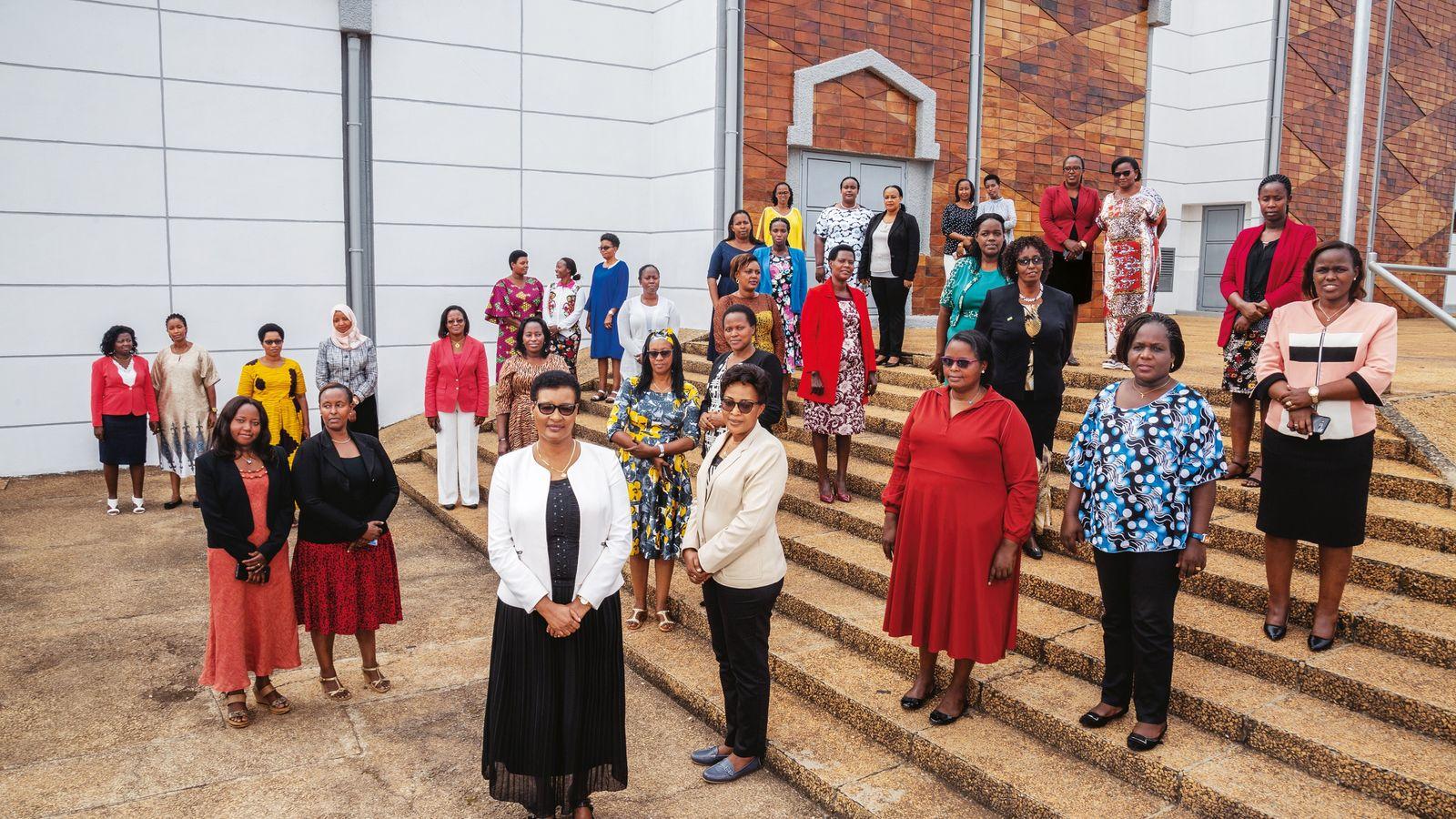 Politikerinnen in Ruanda