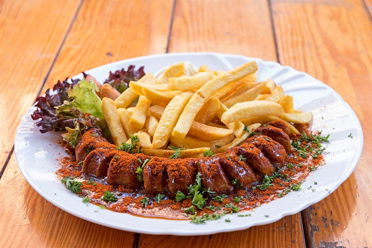 Die älteste Kneipe und Gaststätte in Essen, Ampütte, ist ein Familienbetrieb und serviert auch noch zu ...