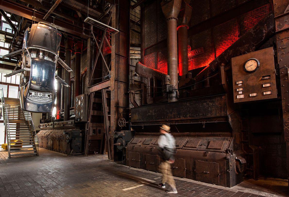 Das Red Dot Design Museum im Industriekomplex Zeche Zollverein stellt preisgekrönte Produktdesigns aus aller Welt aus.