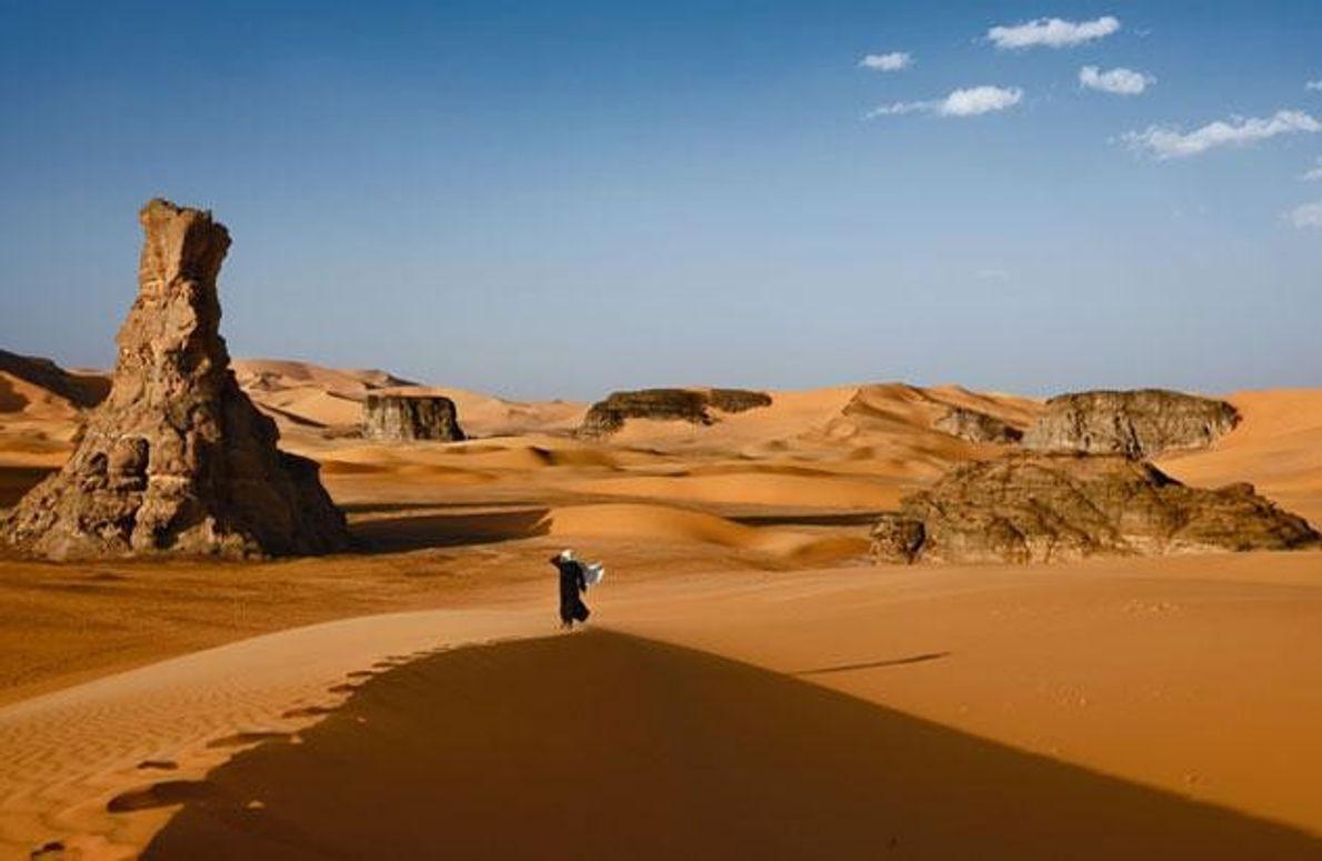 Die Sahara ist das Land der Tuareg, ihr Gebiet reicht von Algerien (im Bild) über Mali …