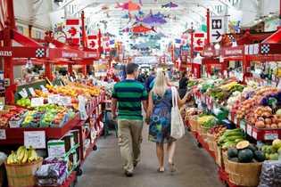 Der historische Saint John City Market ist der älteste durchgängig betrieben Bauernmarkt in ganz Kanada.