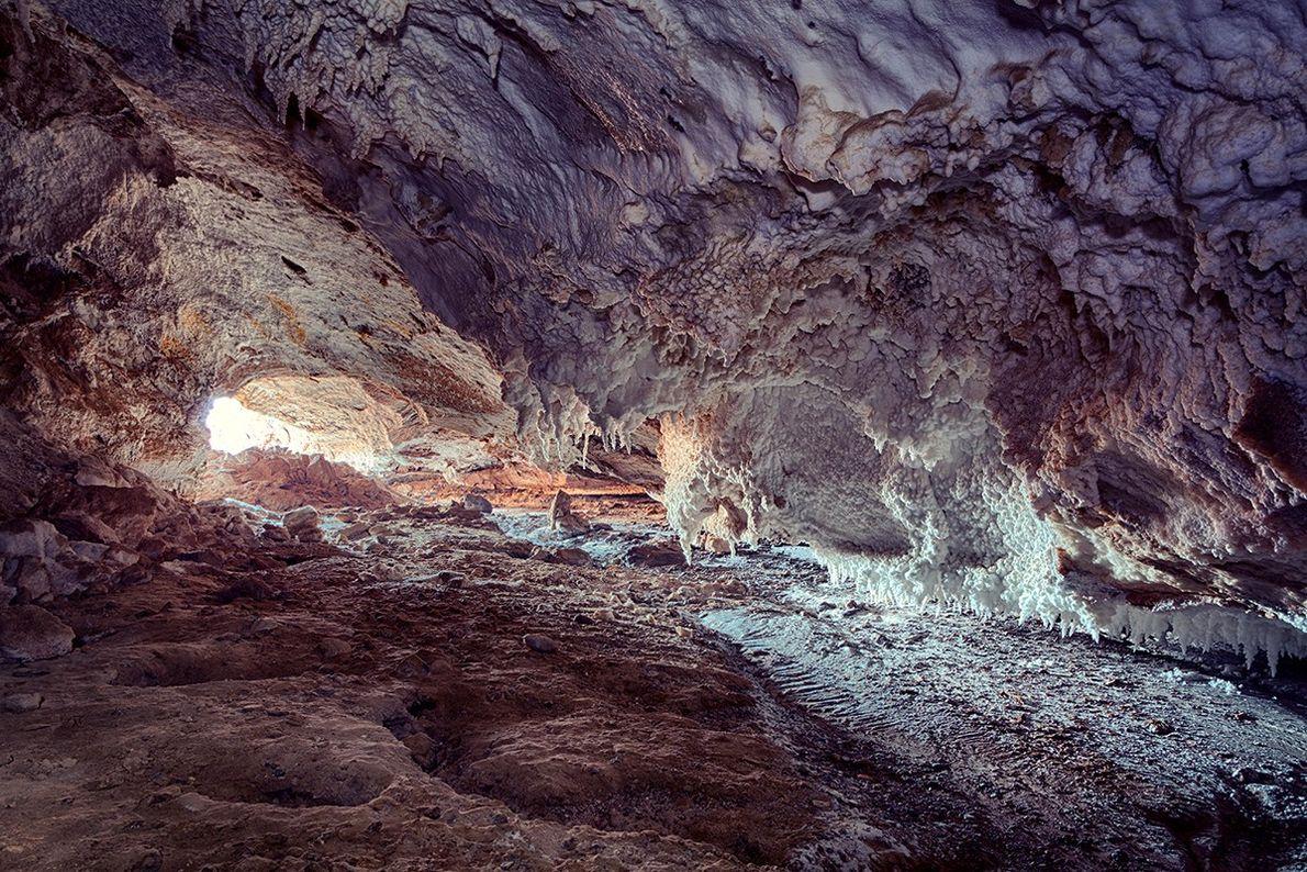 Salzhöhlen von Qhesm