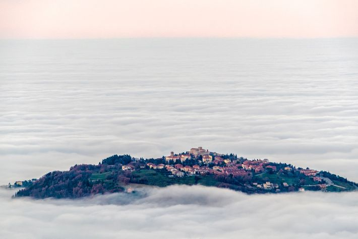 Die historische Altstadt von San Marino hat es geschafft, ihren mittelalterlichen Charme zu bewahren.