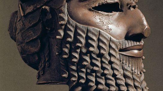Sargon von Akkad, Begründer des ersten Imperiums der Welt, sorgte für Recht und Ordnung.
