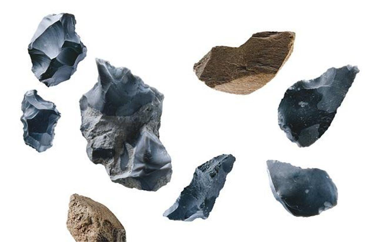 Schneidewerkzeuge der Neandertaler