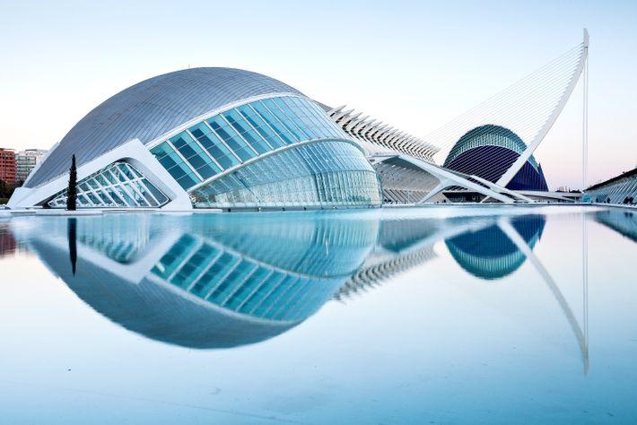 Stadt der Künste und Wissenschaften in Valencia, Spanien