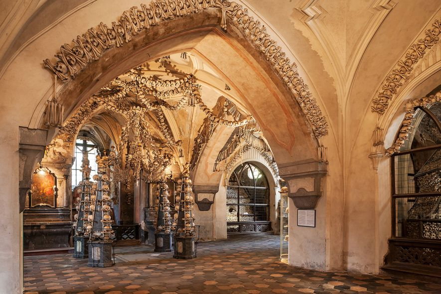 Die Knochenkirche von Sedletz