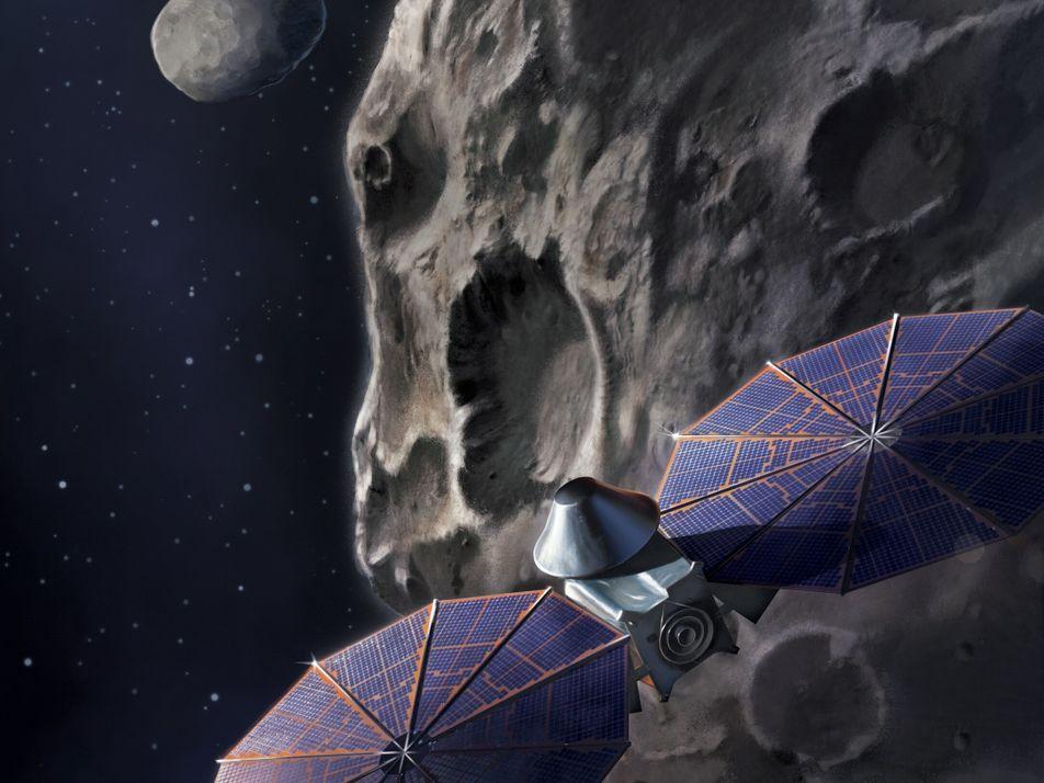 Neue Mission der NASA gestartet: Lucy ist auf dem Weg zum Jupiter
